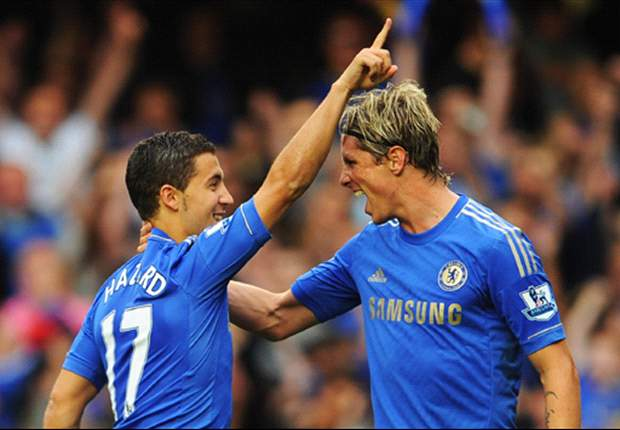 Premier League Team of the Week: Chelsea trio Torres, Hazard and Ivanovic lead the way after three consecutive wins