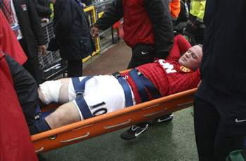 VIDEO - Wayne Rooney: Lutut Saya Baik-Baik Saja
