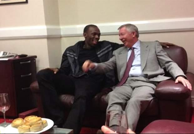 Usain Bolt set for Manchester United debut