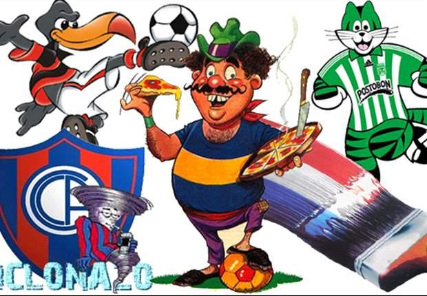 Los apodos de los clubes sudamericanos en Primera división