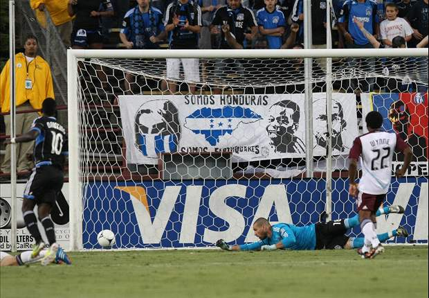 San Jose Earthquakes 4-1 Colorado Rapids: Double braces for Earthquakes