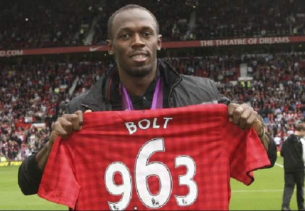 Usain Bolt jugará para Manchester United contra Real Madrid