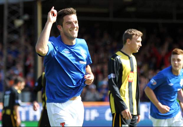 Rangers 4-2 Berwick: Little hat-trick helps hosts return to winning ways