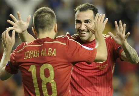 Spanje na zakelijke zege naar EK