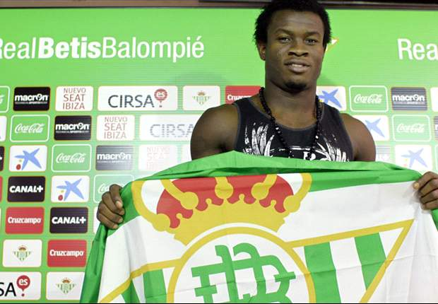 Things have improved slightly for Nosa Igiebor at Real Betis