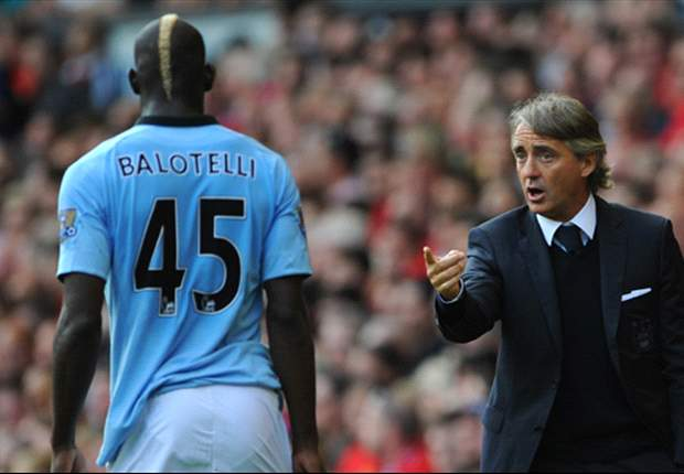 Mancini denies fresh Balotelli bust-up ahead of Arsenal clash