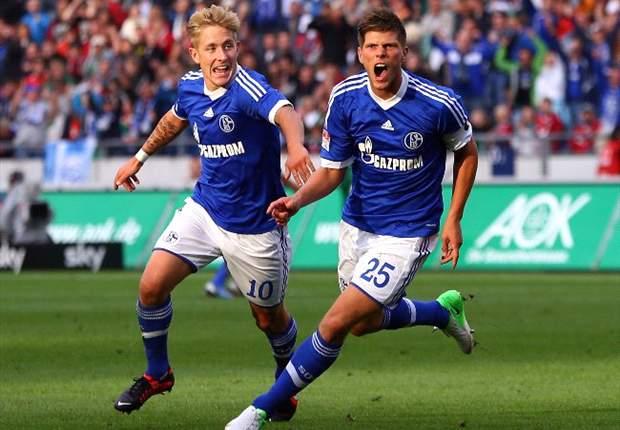 Hunter scoort, Schalke wint niet
