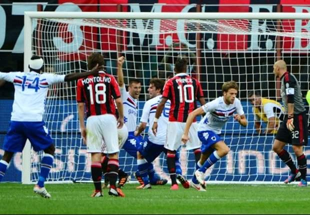 0:1! Milan verpatzt Saisonauftakt gegen Aufsteiger Sampdoria