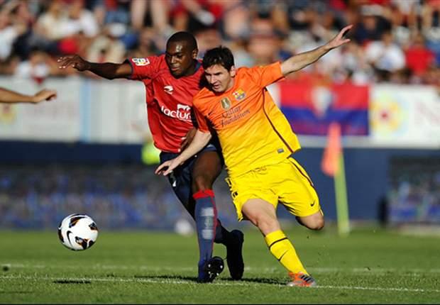 ESP - Messi sauve le Barça