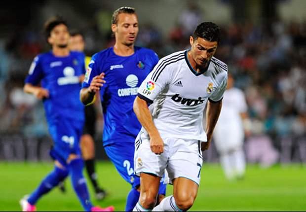 Getafe 2-1 Real Madrid: Barrada strikes to stun champions