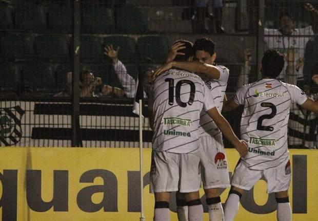 Figueirense 1 x 0 Corinthians: Caio marca e tira catarinenses da lanterna do Brasileirão