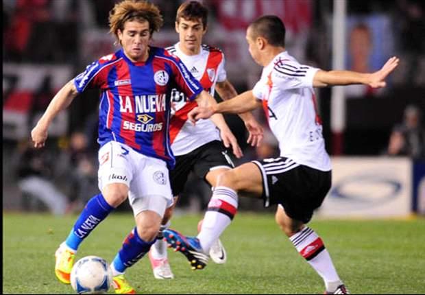 Pálido empate entre River y San Lorenzo