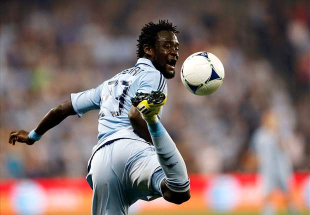 Kei Kamara granted visa to join Norwich on loan from Sporting Kansas City