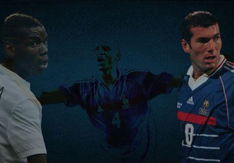 Thuram, Platini, Zidane... L'équipe-type de rêve de l'Équipe de France !