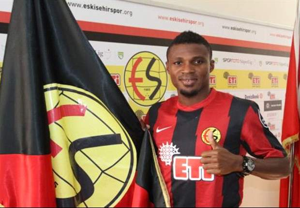 Akaminko on target again for Eskisehirspor in Turkish Cup