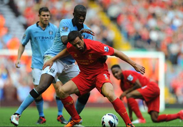 Jose Enrique relishing battle for Liverpool starting berth