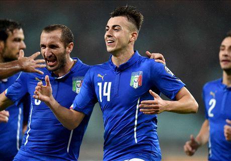 Azerbaijan-Italia LIVE! 1-3, Darmian