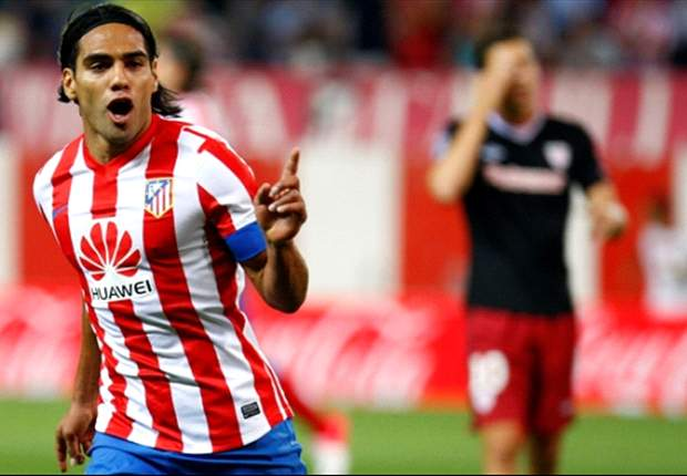 Simeone: Falcao was nearly perfect against Athletic Bilbao