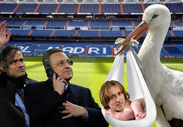 Luka Modric llega al Real Madrid gracias a la cigüeña de los 40 millones de euros