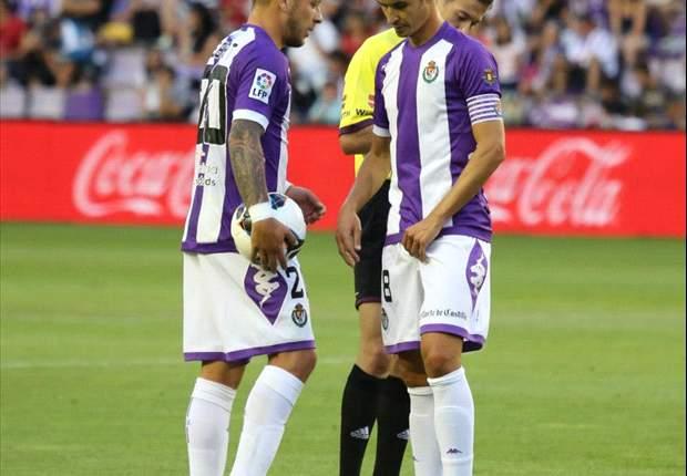 Valladolid ganó por la mínima al Granada en un partido para el olvido