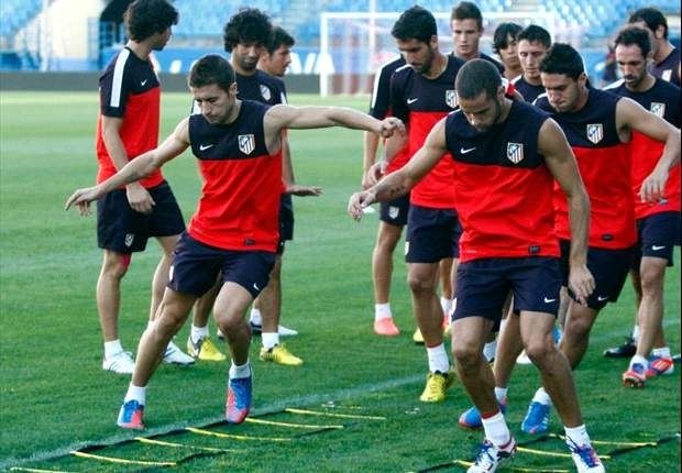Atlético de Madrid: Los de Simeone entrenan sin Falcao ni los internacionales