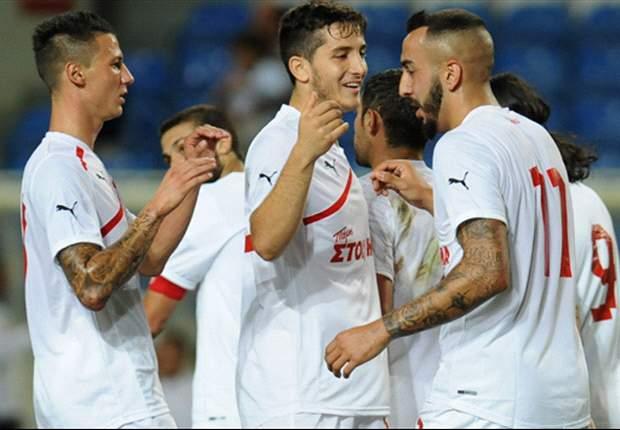Olympiakos segue invicto no Campeonato Grego