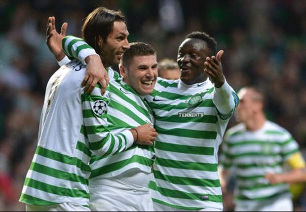 Celtic 4-0 Dundee United: Hooper & Wanyama put on a show for watching Sir Alex & Villas-Boas