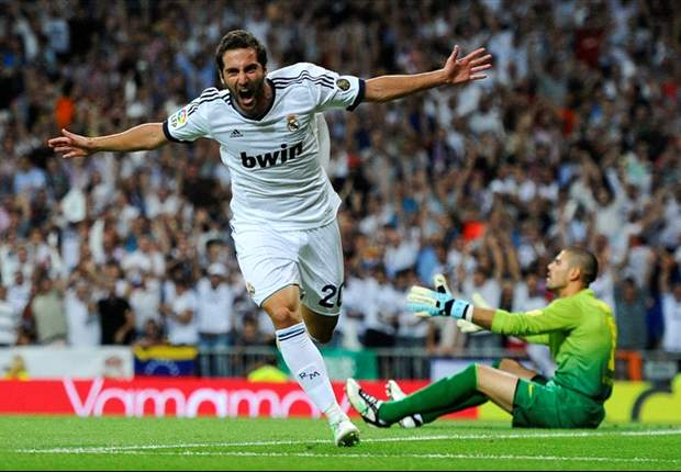 TEAM NEWS: Higuain starts for Madrid while Modric is named as a substitute
