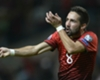 Moutinho reaches 100 caps for Portugal