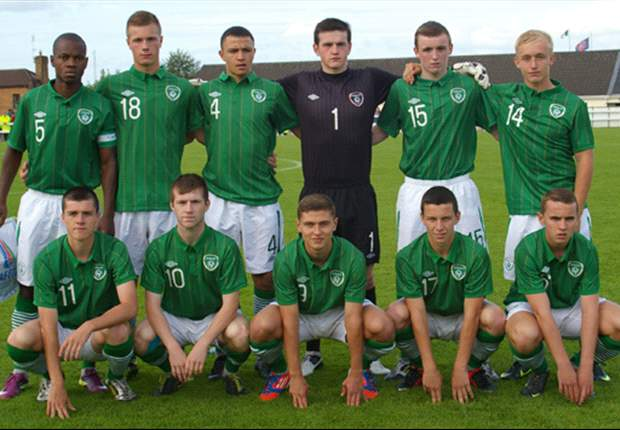 Ireland under-17s qualify for next stage of Uefa Championships with win over Romania