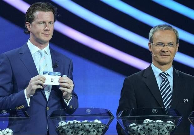 Se revelan los grupos de la Champions League; Real Madrid en el grupo de la muerte