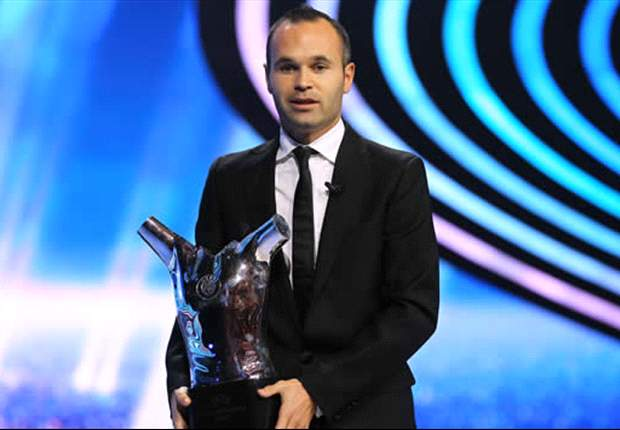 Iniesta deserved to beat Messi & Ronaldo to European prize - but don't expect him to win the Ballon d'Or