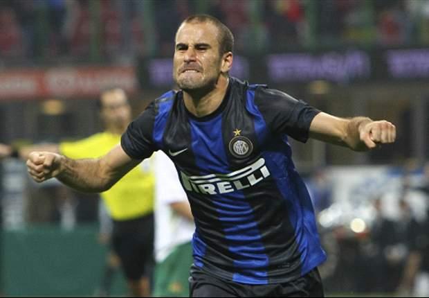 Con un gol de Rodrigo Palacio, el Inter avanzó de ronda en la Europa League
