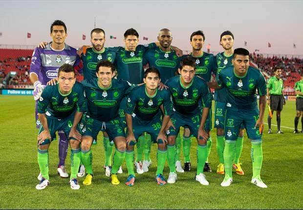 Concachampions: Santos Laguna vapulea al Águila de El Salvador (0-4)