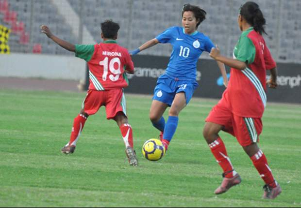 Indian eves kick-start SAFF's Women Championship with a 3-0 win over Bangladesh