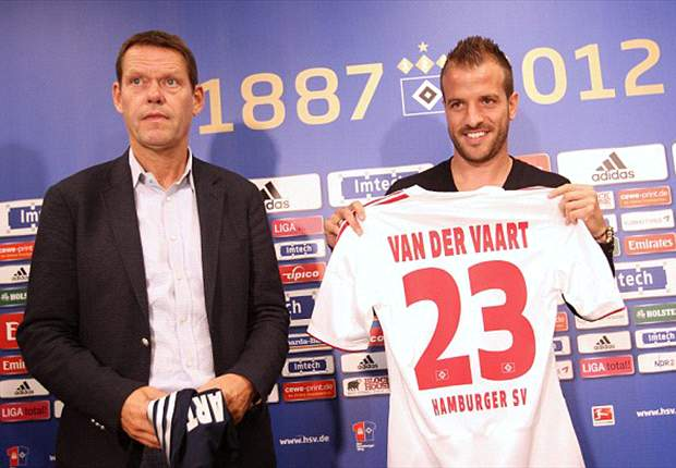 Hamburg chief Arnesen delight after recapturing Van der Vaart from Tottenham