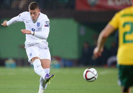 FT. Lithuania 0-3 Inggris