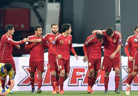 FT: Ukraina 0-1 Spanyol