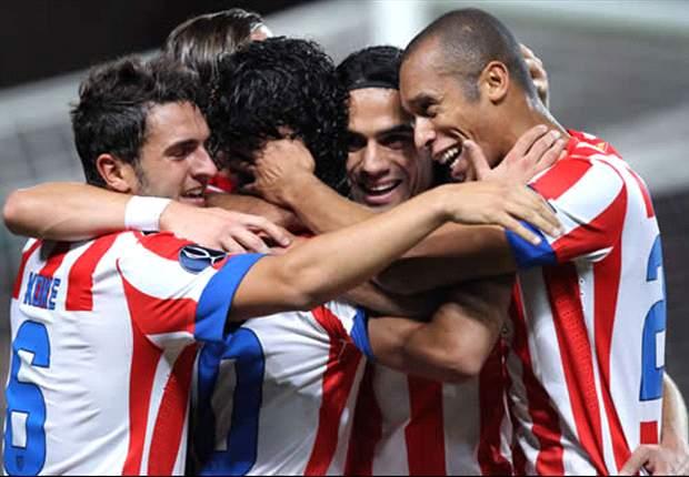 Radamel Falcao, Diego Simeone y el Atlético de Madrid protagonizan el mejor arranque liguero desde el doblete