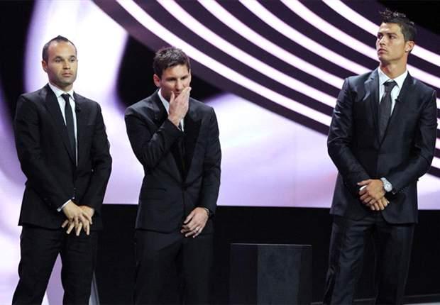 'Ronaldo in de kou bij Ballon d'Or'