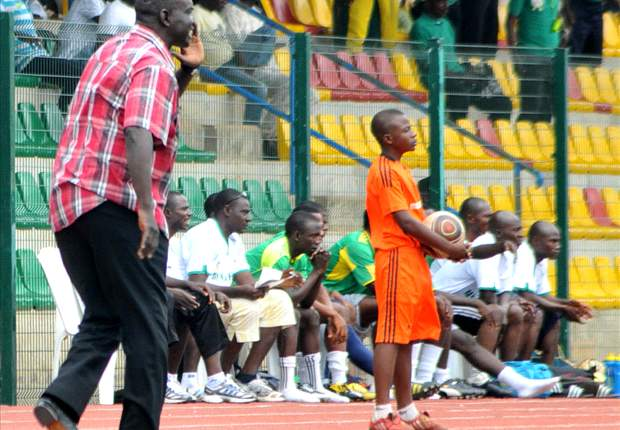 Pillars coach Baba Ganaru blames poor officiating for annihilation against Enyimba
