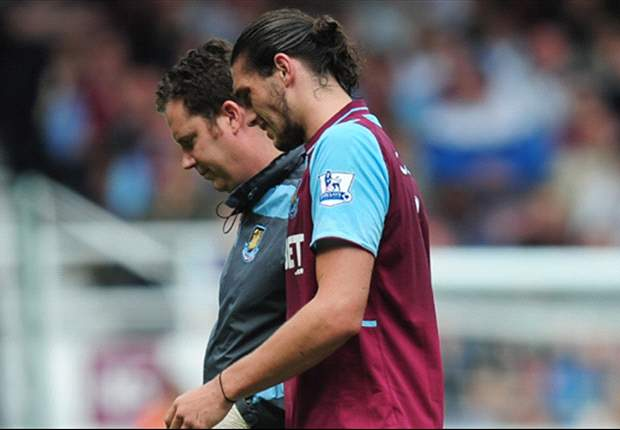 West Ham striker Carroll to start on bench against QPR