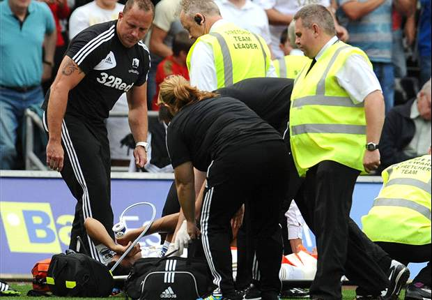 Swansea defender Taylor out for rest of the season with broken ankle