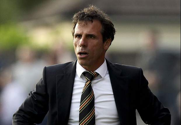 Zola blasts stories claiming he is after Chelsea job