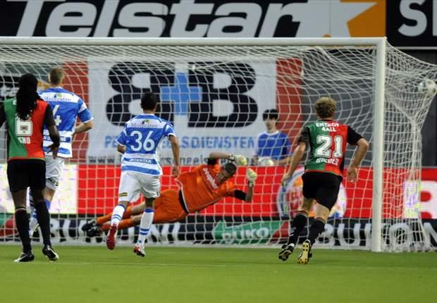 PEC Zwolle kansloos tegen NEC