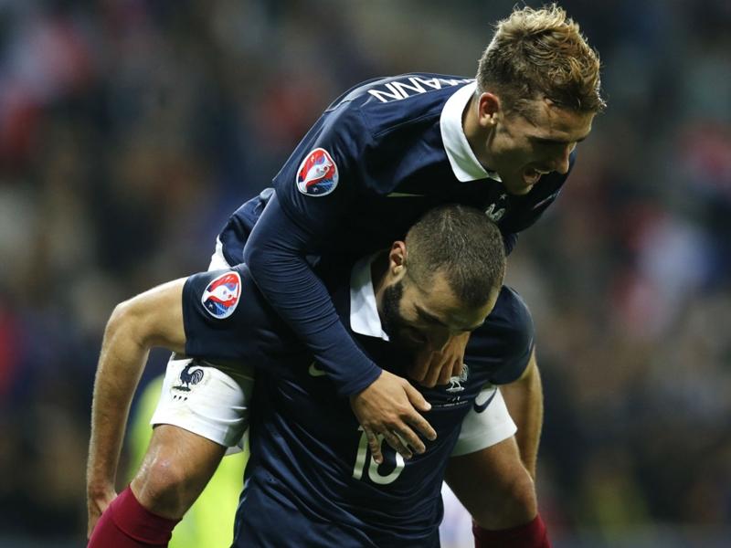 """Équipe de France, Griezmann : """"J'espère que Benzema reviendra"""""""