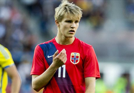 How did Odegaard perform vs Hungary?