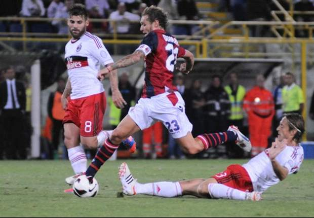 Verso Milan-Bologna: Allegri torna ad affidarsi a Pazzini e manda in panca Robinho e Bojan; fuori De Sciglio per influenza, gioca Abate