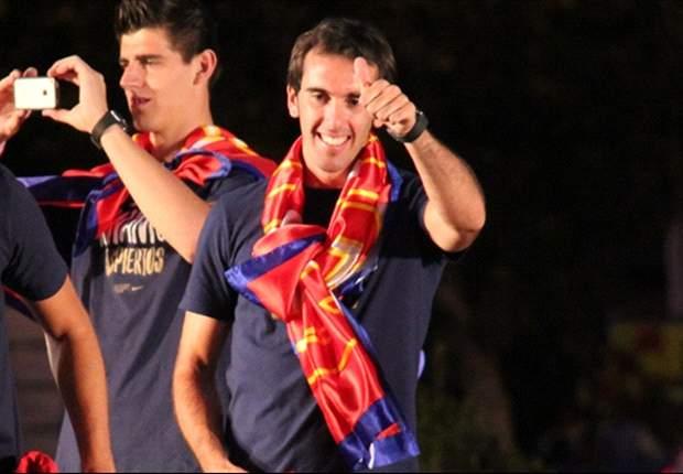 Godín: Estoy disfrutando en el Atlético de Madrid
