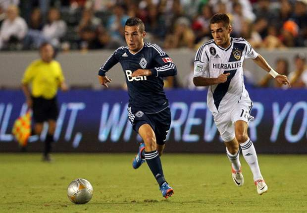Los Angeles Galaxy 2-0 Vancouver Whitecaps: Juninho and Beckham strike